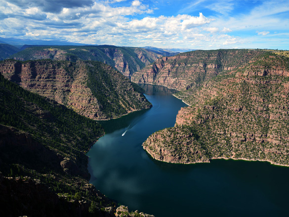 Photo of Flaming Gorge Dam
