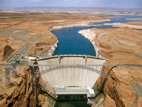 Image result for glen canyon dam""